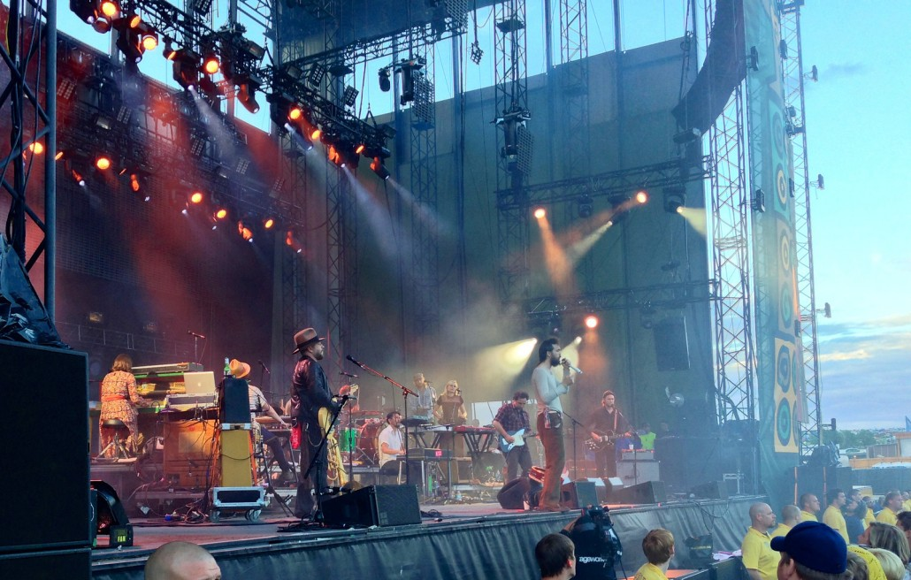 Edward Sharpe and the Magnetic Zeros at Sasquatch 2013